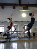 Highlight for album: Ballet Masterclass Sessions in Prague 2008 Week 2 Copyright Daria Klimentova