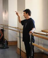 Highlight for album: Ballet Masterclass Sessions in Prague 2009 Week 2 copyright Daria Klimentova