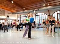 Highlight for album: International Ballet Masterclass Sessions 2011 Week 1 by Amber Hunt, Arnaud Stephenson and Milan Fara.