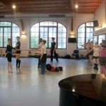 Class studio 1 30th with Daria at the barre