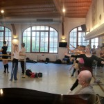 Class studio 1 30th with Daria at the barre 2