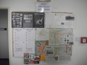 Second notice board