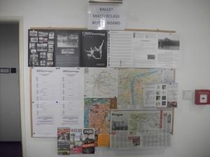Second notice board