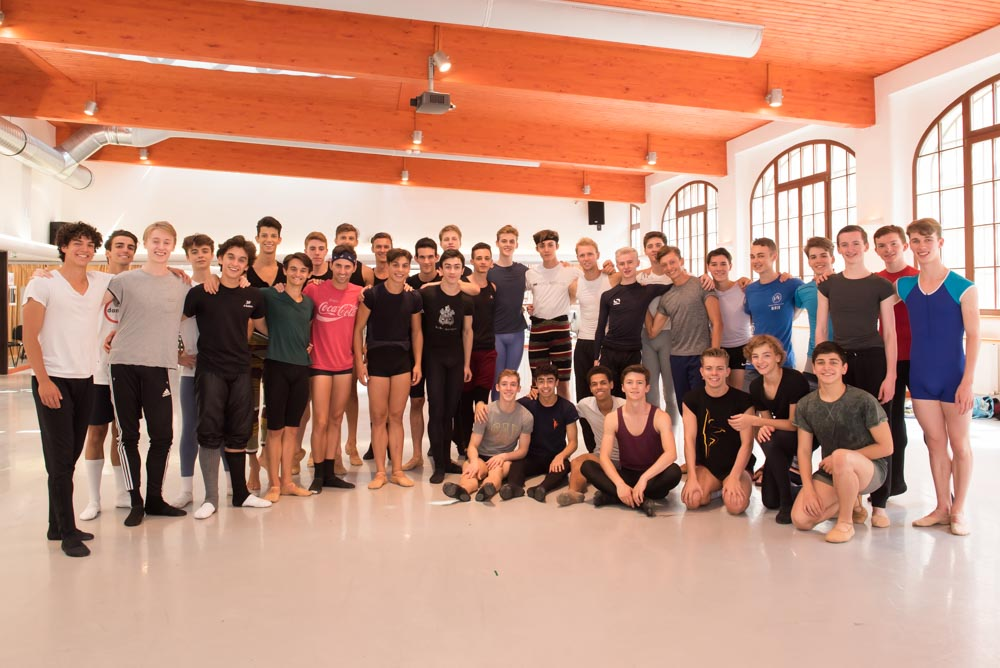 International Ballet Masterclass at the Czech National Ballet Studios, Prague on August 04, 2015. Photo: Arnaud Stephenson