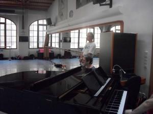 John and Sarah Mucha watching class